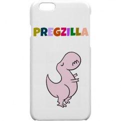 Pregzilla Iphone Case