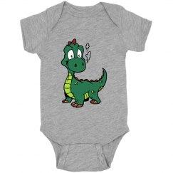 Cute Dragon Infant Onsie