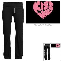kiss me yoga pants