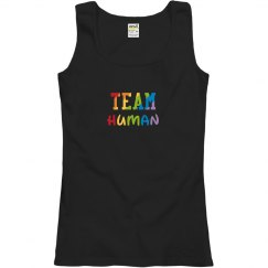 Team Human Ladies Tank
