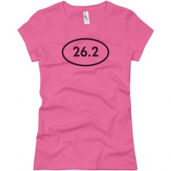 26.2 Pink Shirt