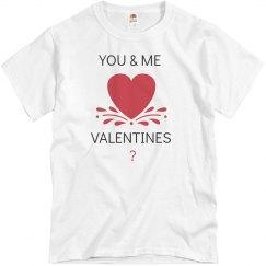 You & Me valentines