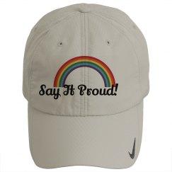 Say It Proud Hat / Rainbow