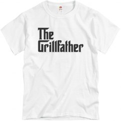 The Grillfather Mens Tshirt