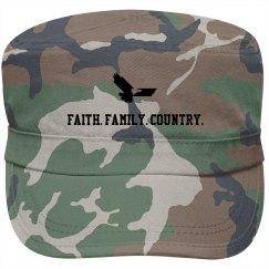 Faith. Family. Country.