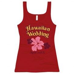 Hawaiian Wedding Tank