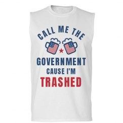 Funny Political July 4th Shirt