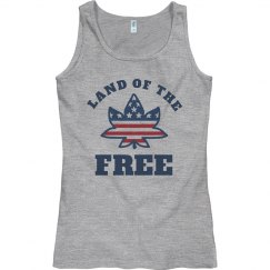 USA July 4th Legalize Weed Tank