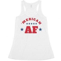 Patriotic 'Merican As F