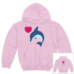 Youth Dolphin Hoodie
