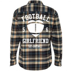 Football Girl Flannel