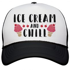 Ice Cream And Chill Hat