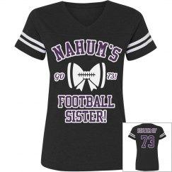 Sisters shirt football