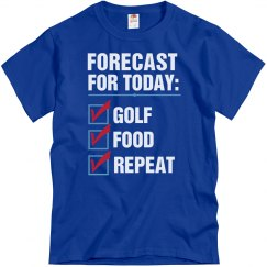 Forecast for today