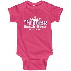 Baby Princess Announce