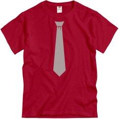 Scarlet & Grey Neck Tie