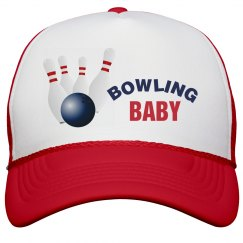 Bowling Baby Peak Cap