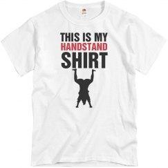 Handstand shirt