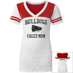 Bulldogs Cheer Mom Tee