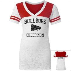 Bulldogs Cheer Mom Tee