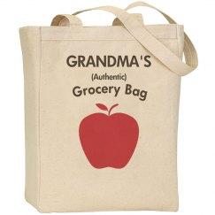 Grandma's grocery bag