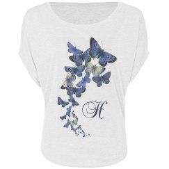 Blue Butterfly: Optional Initial