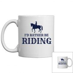 Rather be riding mug