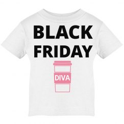 Black Friday kids tee