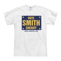 Sheriff Election Sign Tee