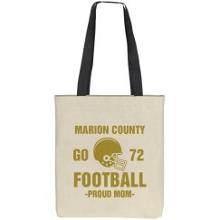 Proud Football Mom Bag