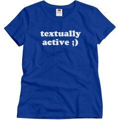Textually Active