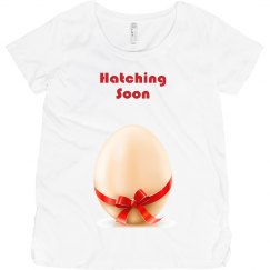 Baby Hatching soon t-shir
