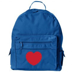 Red Heart Backpack