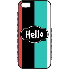 Hello (Rubber iPhone5 & 5S Cover