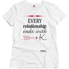 Ladies Ends with K Tshirt