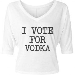 Simple Vote For Vodka