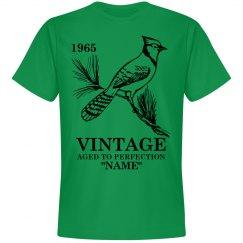 Vintage Blue Jay Birthday shirt