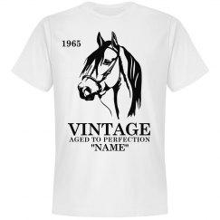 Vintage Horse Birthday shirt