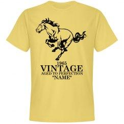 Vintage Mustang Birthday shirt