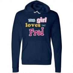 This girl loves her Fred!