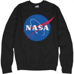 Her Trendy NASA Sweater
