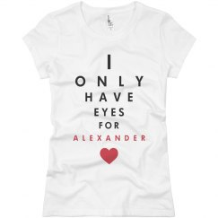 Eyes for alexander