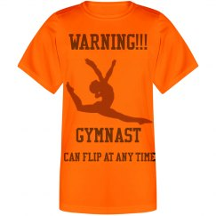 Gymnastics sport tee