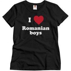 I love Romanian Boys
