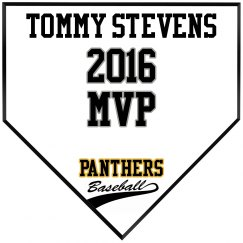 MVP Homeplate Plaque