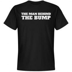 MAN BEHIND THE BUMP Couples Tee 2/2 Maternity set