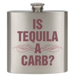 Is Tequila A Carb Pink Flask
