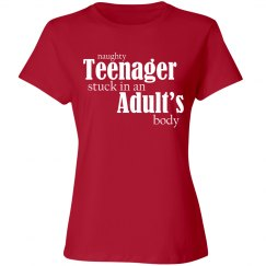 Naughty Teenager Red