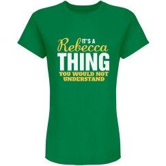 Rebecca Thing