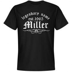 Miller. Legendary name